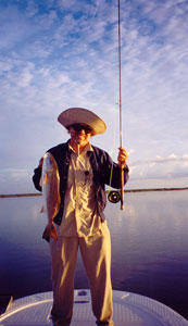 Flyfishing with a Guide in Mosquito Lagoon